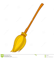 clipart halloween witch broom clipartxtras