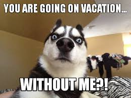 On Vacation Meme - meme creator you are going on vacation without me meme