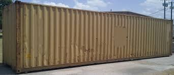 40 u0027 wind and water tight container high cube container used high