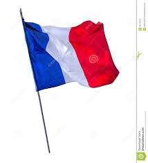 Flag Pole Workout Isolated French Flagpole Stock Image Image Of National 49118379