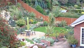 Slope Landscaping Ideas For Backyards Sloped Backyard Landscaping