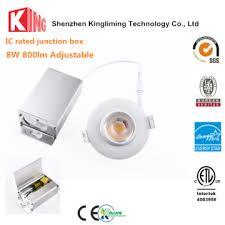 led recessed lighting manufacturers etl 8w rotatable led gimbal downlight gimbal led recessed lighting