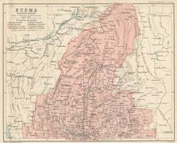 Map Burma File Map Of Burma Northern Section From The Imperial Gazetteer
