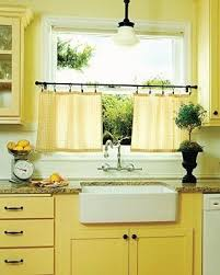 Kitchen Yellow - best 25 yellow kitchen curtains ideas on pinterest kitchen