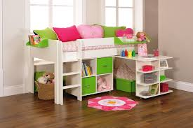 Cool Furniture Ideas by Bedroom Lovely Girls Loft Bed For Kids Bedroom Furniture Ideas
