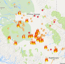 Wildfire Bc Map Interactive by 250 News Wind Event Could Dramatically Change Situation In Cariboo