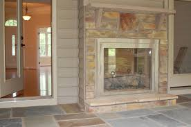 Sided Outdoor Fireplace - indoor outdoor double sided fireplace pretty awesome double