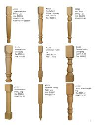 Husky Table Legs by Table Leg Price List 3 980x1268 Jpg