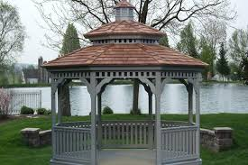 Backyard Gazebo Ideas Backyard Gazebo Ideas From Lancaster County Backyard In Kinzers Pa