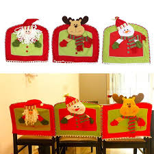 snowman chair covers christmas santa claus snowman chair covers dining room chair cover