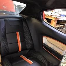 How To Sew Car Upholstery Custom Car Upholstery Hotrod Upholstery Leather Interior
