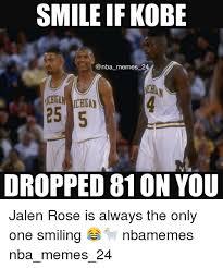 Kobe Memes - smile if kobe memes 2 dropped 810n you jalen rose is always the