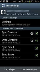 sync outlook calendar with android troubleshoot contacts and calendar sync between android and