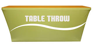Trade Show Table Runner Trade Show Table Covers Stretch Home Table Decoration