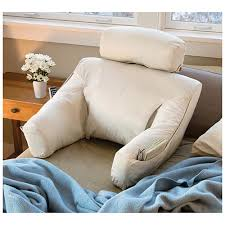 tv bed pillow bed lounge back support pillow for reading and tv the best bedroom
