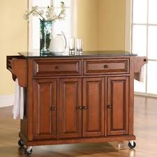 roll away kitchen island kitchen islands carts you ll wayfair