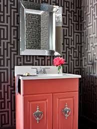 modern bathroom vanity update hgtv