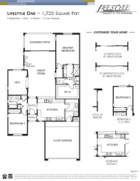 lifestyle one home plan by cachet homes in cachet at the wigwam