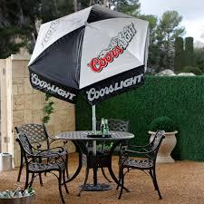 Beer Logo Patio Umbrellas 9ft Patio Umbrella Replacement Cover Canopy 6 Ribsyellow