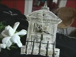 halloween cemetery cake polymer clay cemetery clock hgtv