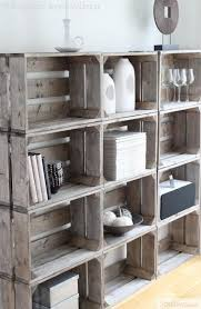 25 best wood crate shelves ideas on pinterest crate shelving