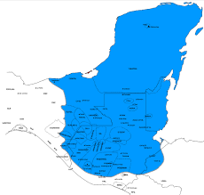 Mesoamerica Map Book Of Mormon Resources Linguistic Littorals