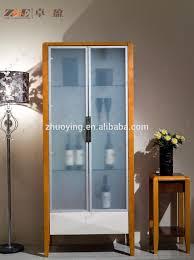 living room design wooden glass showcase buy glass display