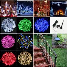 outdoor string lights solar online buy wholesale solar christmas lights outdoor from china