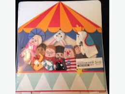 circus puppets ikea circus puppet theatre and finger puppets city