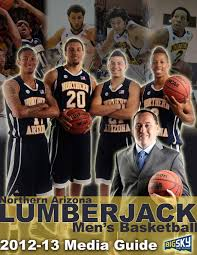 2012 13 northern arizona basketball media guide by nau athletics