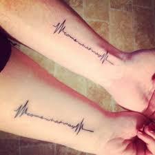 your through matching tattoos