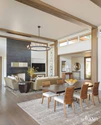Ceiling Colors For Living Room by A Camo Jacket Inspires The Colors Of This Lake Home Luxe
