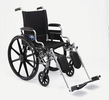medline foldable wheelchairs ebay
