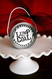 lump of coal fun gift idea w free printable