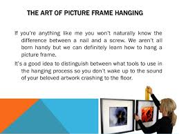 How To Hang A Picture Best Tools To Hang A Picture Frame