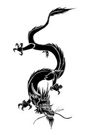 dragon tribal tattoo by syluna hirokashi by sylunahirokashi on
