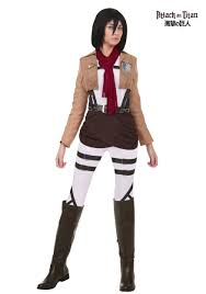 party city halloween costume coupons attack on titan mikasa costume
