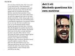 macbeth act 1 scene 7 speech analysis youtube