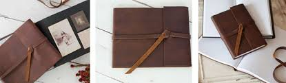 rustic leather photo album new rustic leather covers for guest books photo albums and