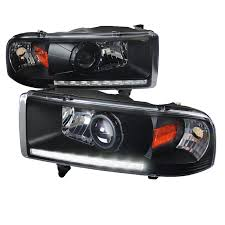 2001 dodge ram headlights dash z racing lighting aftermarket lights headlights