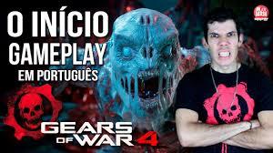 gears war 4 gameplay início dublado legendado em