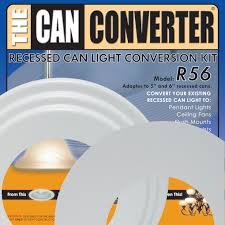 Ceiling Light Conversion Kit by Model R56 5 And 6 Inch Can Light Converter With White Medallion
