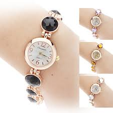 women bracelet watches images White brown purple black quartz bracelet watch usd 33 29 jpg