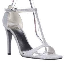 weitzman sinful t strap dress sandals silver