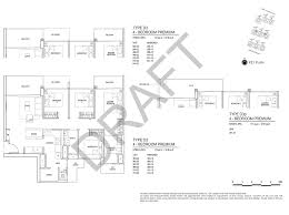 floor plan survey inz residence ec in choa chua kang avenue 5 by qingjian