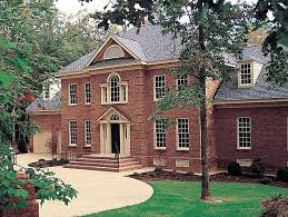 brick home floor plans 153 best garrison house pics images on facades