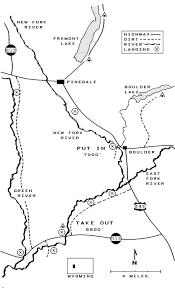 Blm Maps Wyoming Floater U0027s Guide New Fork River Boulder Creek