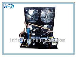 condensation chambre unités de condensation de réfrigération de refroidissement par l