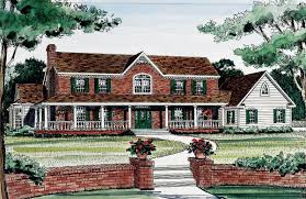 two wrap around porches 3834ja architectural designs house plans