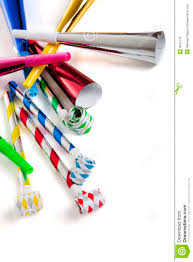 noise makers for party noise makers on white royalty free stock images image 9075779